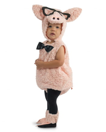 Hipster Piggy Toddler Costume