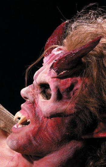 Höllen Hörner rot