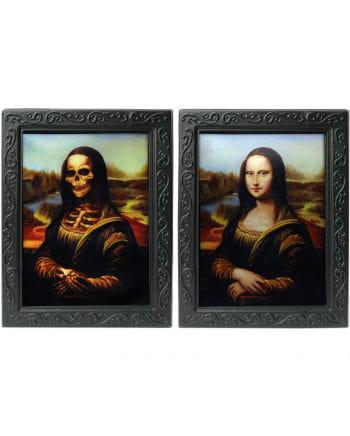 Hologramm Portrait - Mona Lisa -