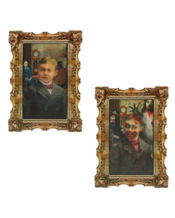 Hologramm Portrait Zombie-Junge