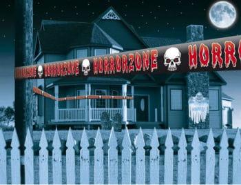 Horror Zone Warning Tape