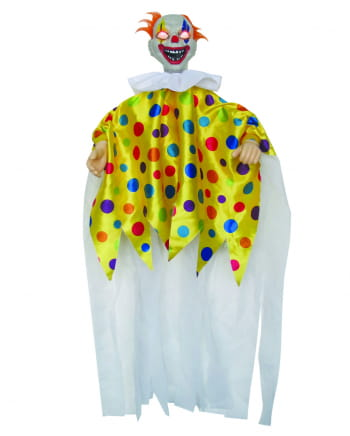 Horror Clown With Wriggling Arms, Sound & Light