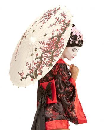 Asian rice paper parasol