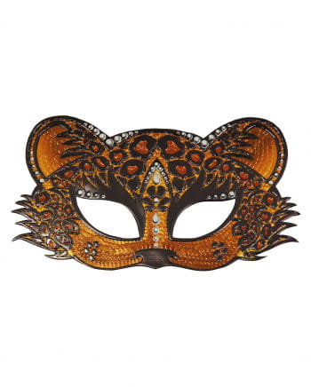 Leopard Eye Mask With Strait