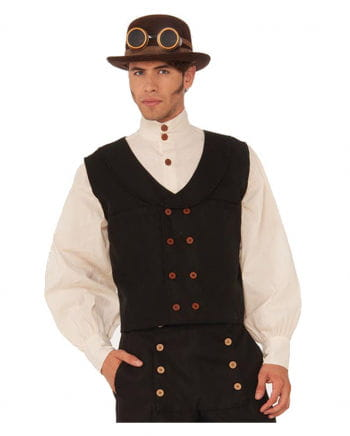 Steampunk vest with buttons