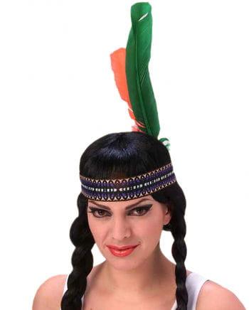 Indianer Kopfschmuck mit Federn