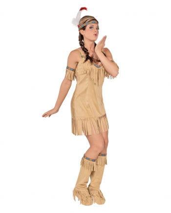Indianerin Kostüm Kimi beige