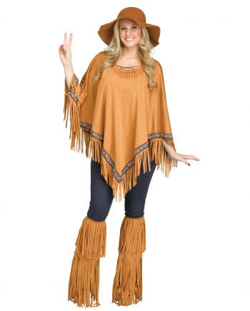 Indian Brown Poncho