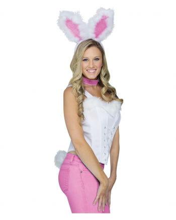 Instant Bunny Set White
