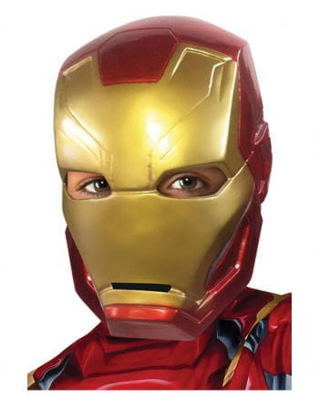 Iron Man children's half mask