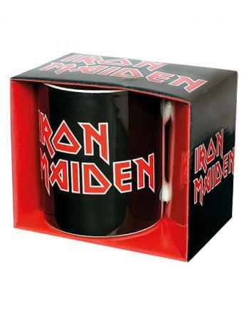 Iron Maiden Logo Tasse