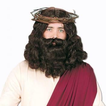 Jesus Perücke mit Bart