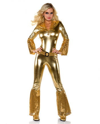 Jumpsuit Hot Pants Gold