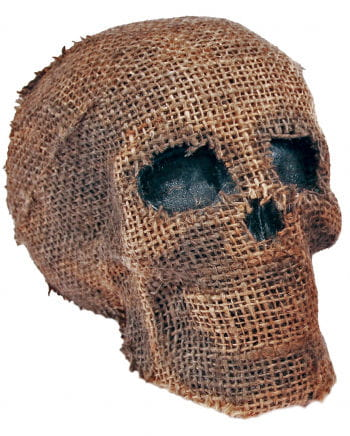 Jute Skull With Jaw