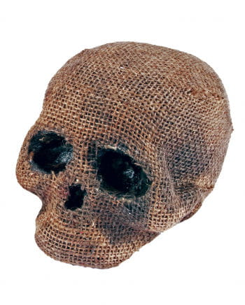 Jute Skull Without Jaw