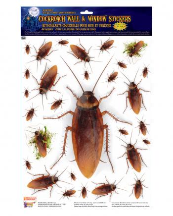 Kakerlaken Wand Aufkleber 29 Stück