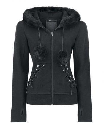 Hooded sweater black