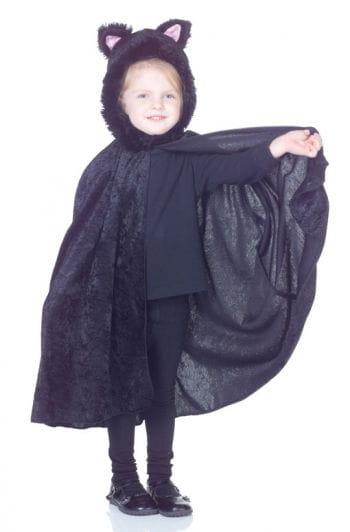 Schwarzer Katzenumhang