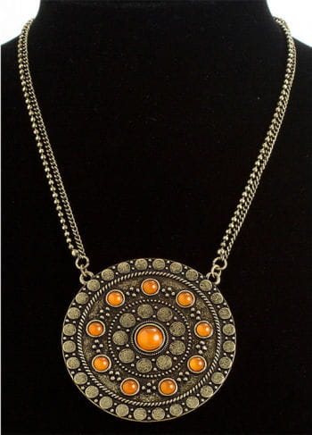 Celtic Necklace In Bronze