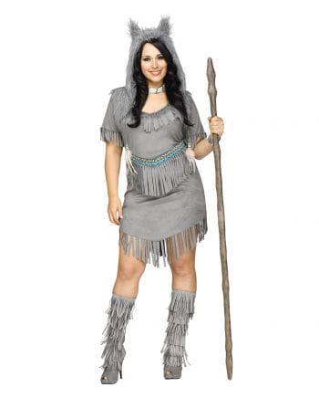 Sexy Wolf Costume Ladies Plus Size