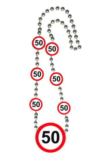 Chain traffic sign 50