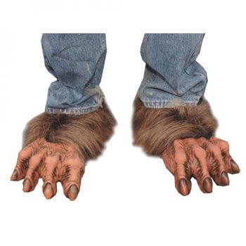 Killer Wolf Füße braun