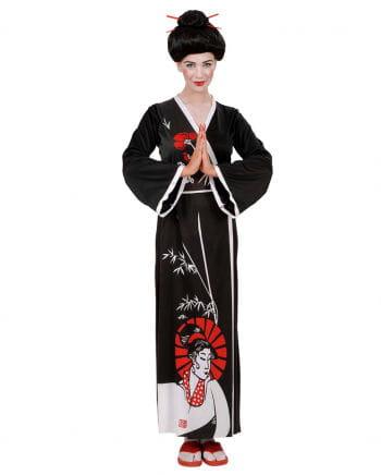 Kimono black medium