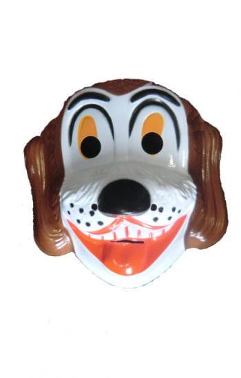 Children mask dog Bello