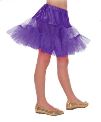 Children petticoat purple