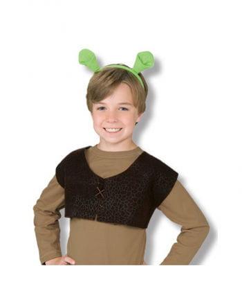 Child Shrek Ears and Vest