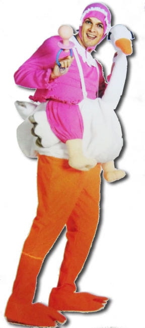 Stork with Baby Costume