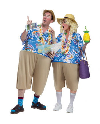 Pauschal Tourist Kostüm