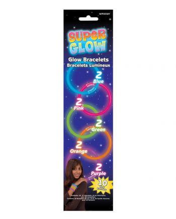 Glow Stick Bracelets 10 St.