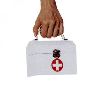 Nurse Handbag White