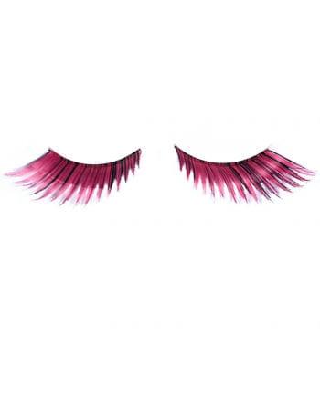 Cosplay Wimpern Pink-Schwarz