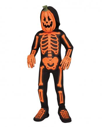 Kürbis Skelett Jumpsuit Kleinkind