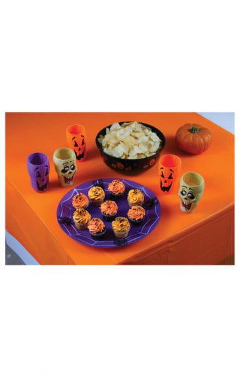 Halloween Tischdecke orange