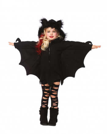 Cuddly Bat Cape For Children