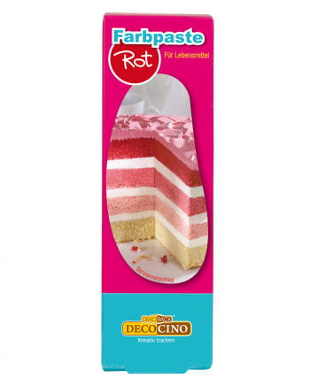Color paste food red