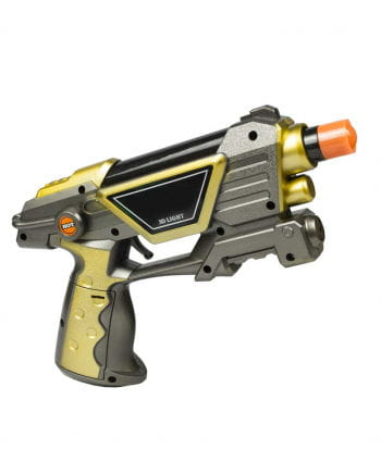 LED 3D Space Gun with Light & Sound
