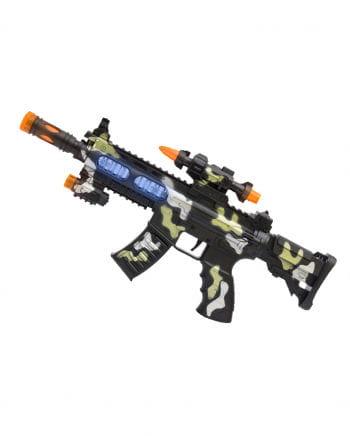 LED Super Machine Gun & light Sound