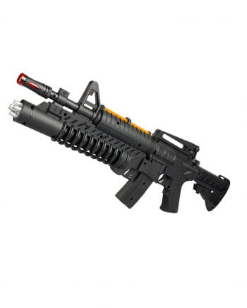 LED AK-Carbine Gun & Sound with light 50cm