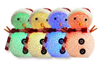 RGB Colour Changing LED Snowman