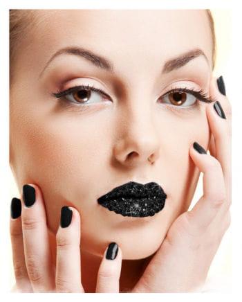 Lips sticker black