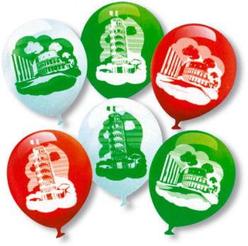 Lufballons Italy 6 Pcs.