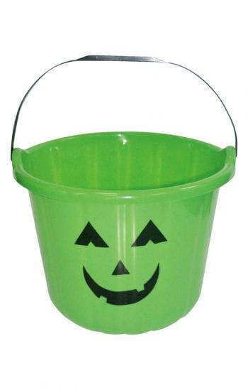Lustiger Halloween Eimer grün