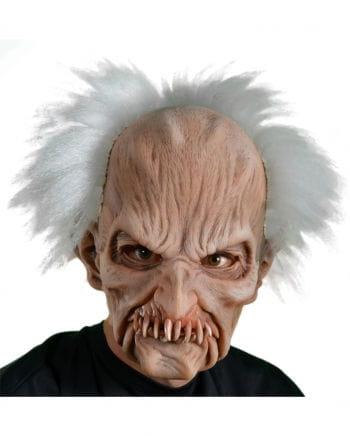 Mad Scientist Zombie Maske