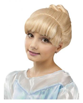 Fairy princess child wig Blond