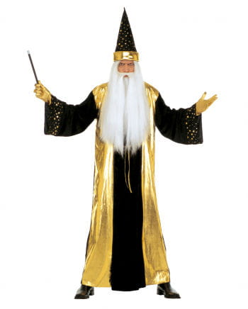 Magier Kostüm gold XL