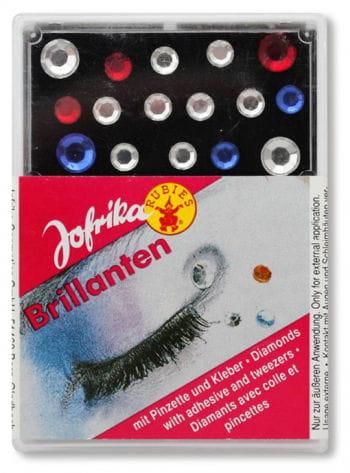 Stick-On Rhinestones Makeup Kit